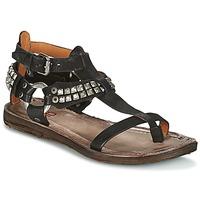 Schoenen Dames Sandalen / Open schoenen Airstep / A.S.98 RAME Zwart