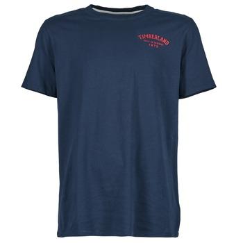 Textiel Heren T-shirts korte mouwen Timberland SS KENNEBEC RIVER Marine