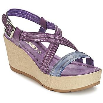 Schoenen Dames Sandalen / Open schoenen Samoa JEBEMA Violet / Blauw