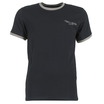 Textiel Heren T-shirts korte mouwen Teddy Smith THE-TEE Zwart