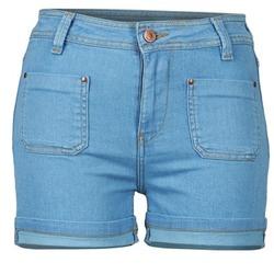 Textiel Dames Korte broeken / Bermuda's School Rag SUN Blauw / Medium