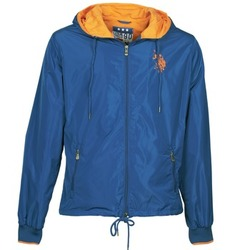 Textiel Heren Wind jackets U.S Polo Assn. EIGHTEEN 90 Blauw / Orange
