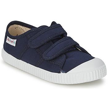 Schoenen Kinderen Lage sneakers Victoria BLUCHER LONA DOS VELCROS Marine