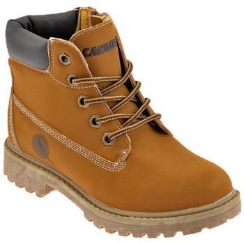 Schoenen Jongens Laarzen Canguro  Beige