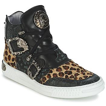 Schoenen Dames Hoge sneakers New Rock ANTERLO Leopard