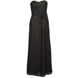 Textiel Dames Lange jurken Manoukian 612930 Zwart / Goud