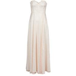 Textiel Dames Lange jurken Manoukian 613346 Roze / Beige