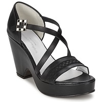 Schoenen Dames Sandalen / Open schoenen Stephane Gontard FOLIES Zwart