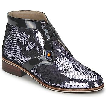 Schoenen Dames Laarzen C.Petula PEGASE Zilver