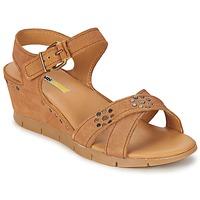 Schoenen Dames Sandalen / Open schoenen Manas   camel