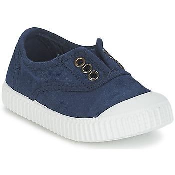 Schoenen Kinderen Lage sneakers Victoria INGLESA LONA TINTADA Marine