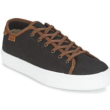 Schoenen Heren Lage sneakers Victoria BASKET LINO DETALLE MARRON Zwart / Brown