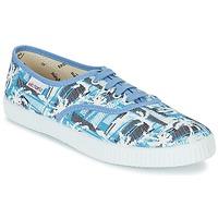 Schoenen Lage sneakers Victoria INGLES PALMERAS Blauw