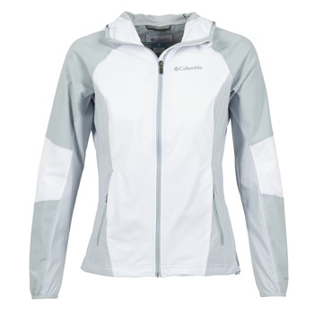 Textiel Dames Wind jackets Columbia SWEET AS SOFTSHELL Wit / Grijs