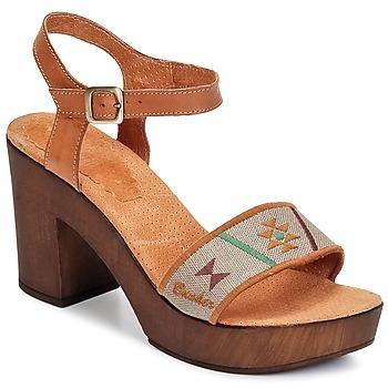 Schoenen Dames Sandalen / Open schoenen Bunker LUCY Brown / TAUPE
