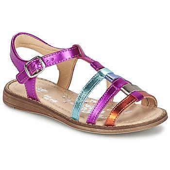 Schoenen Meisjes Sandalen / Open schoenen Babybotte KIRI2 Multikleuren
