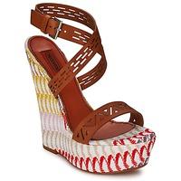 Schoenen Dames Sandalen / Open schoenen Missoni XM015 Brown / Multicolour