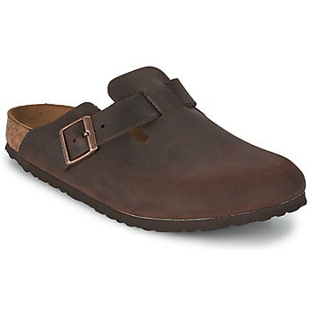 Schoenen Heren Klompen Birkenstock BOSTON Brown