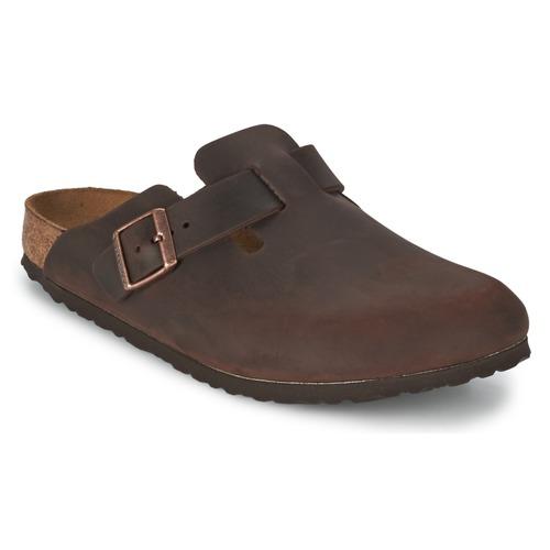 Schoenen Klompen Birkenstock BOSTON Brown