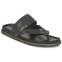 Schoenen Heren Sandalen / Open schoenen Levi's CHABOT FLIP FLOP Zwart