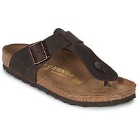 Schoenen Heren Slippers Birkenstock MEDINA PREMIUM Brown