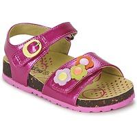 Schoenen Meisjes Sandalen / Open schoenen Kickers MAGIFLOWER  FUCHSIA