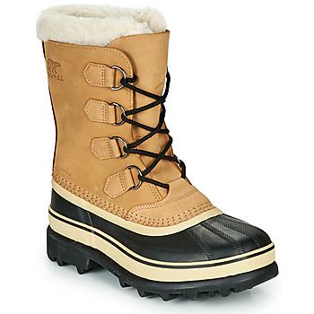 Schoenen Dames Snowboots Sorel CARIBOU Brown / Zwart