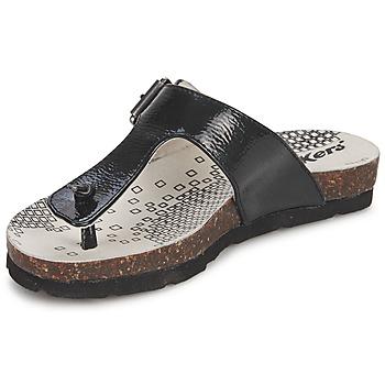 Schoenen Meisjes Slippers Kickers DITIK Zwart