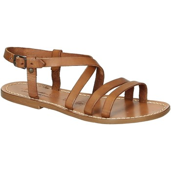 Schoenen Dames Sandalen / Open schoenen Gianluca - L'artigiano Del Cuoio 531 D CUOIO CUOIO Cuoio