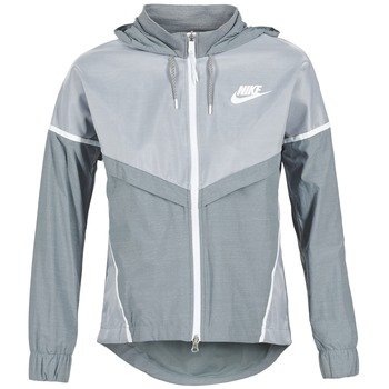 Textiel Dames Windjacken Nike TECH WINDRUNNER Grijs