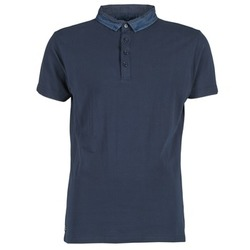 Textiel Heren Polo's korte mouwen Deeluxe AGAINER Marine
