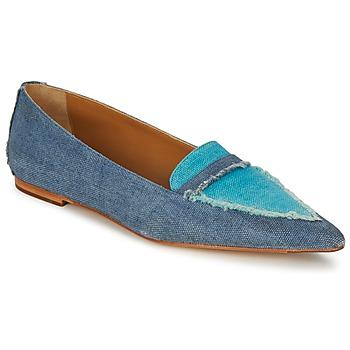 Schoenen Dames Mocassins Castaner KATY Blauw / Jean