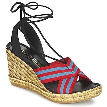 Schoenen Dames Sandalen / Open schoenen Marc Jacobs DANI Blauw / Rood