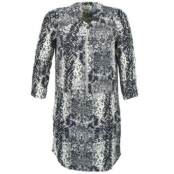Textiel Dames Korte jurken Stella Forest EDERI Marine / Wit