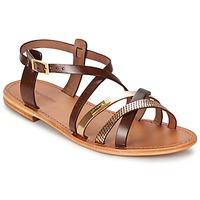 Schoenen Dames Sandalen / Open schoenen Les Tropéziennes par M Belarbi HAPAX Brown / Goud