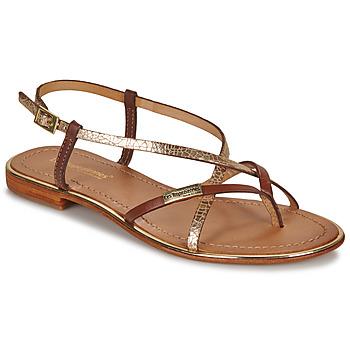 Schoenen Dames Sandalen / Open schoenen Les Tropéziennes par M Belarbi MONACO Tan / Goud