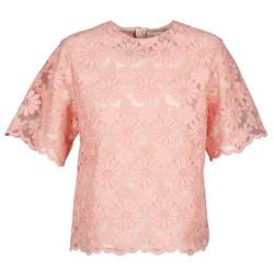 Textiel Dames Tops / Blousjes Manoush AFRICAN BLOUSE Corail