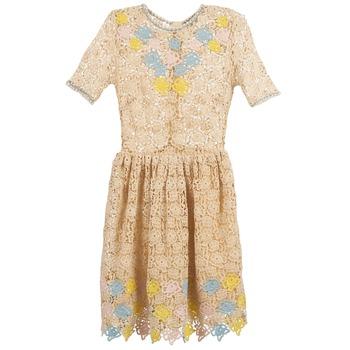 Textiel Dames Korte jurken Manoush ROSES Ecru