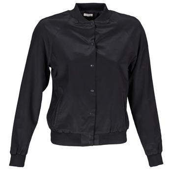 Textiel Dames Jasjes / Blazers Manoush TEDDY FLEUR SIATIQUE Zwart