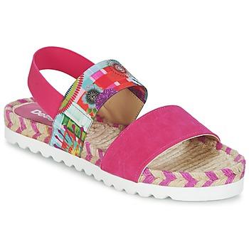 Schoenen Dames Sandalen / Open schoenen Desigual FORMENTERA Roze