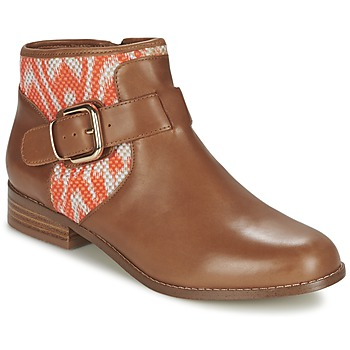 Schoenen Dames Laarzen Mellow Yellow VABEL Brown / Orange