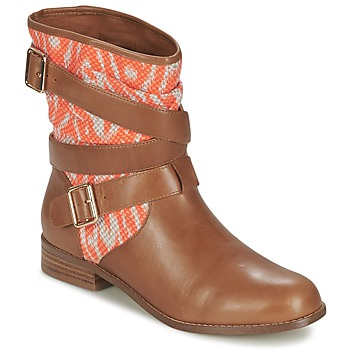 Schoenen Dames Laarzen Mellow Yellow VABELO Brown / Orange