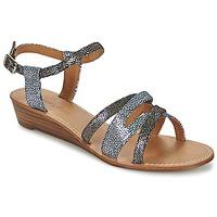Schoenen Dames Sandalen / Open schoenen Mellow Yellow VALOU Zwart