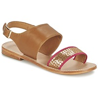 Schoenen Dames Sandalen / Open schoenen Mellow Yellow VADELI  CAMEL