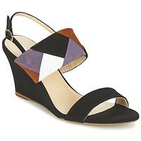 Schoenen Dames Sandalen / Open schoenen Mellow Yellow VEPALE Zwart