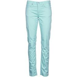 Textiel Dames 5 zakken broeken Gant 410478 Grijs