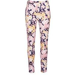 Textiel Dames 5 zakken broeken Gant 414705 Roze / Blauw
