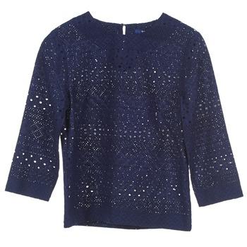 Textiel Dames Tops / Blousjes Gant 431951 Blauw