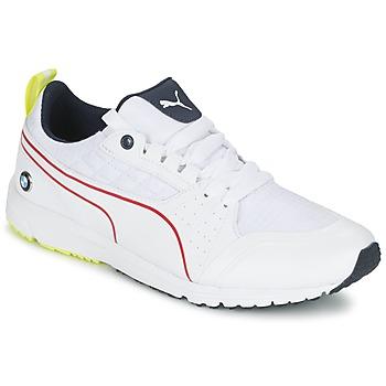 Schoenen Heren Lage sneakers Puma BMW MS PITLANE Wit / Geel