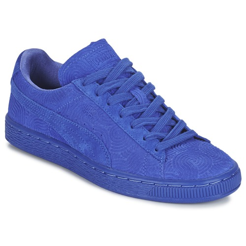 9951526d338 Schoenen Dames Lage sneakers Puma SUEDE CLASSIC + COLORED WN'S Blauw